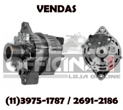 ALTERNADOR ISKRA 12V 120A CASE 580N 590ST B90B NEW HOLLAND SL57 CUMMINS IVECO FTP 11.204.352 AAK4813 84254289 84416587 87422777 102211-9090 20G0520