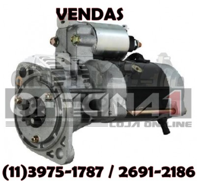 MOTOR DE PARTIDA DELCO REMY 93584 12V 9D ISUZU CARRIER THERMOKING SBIII S13-289 93584 DR 93584 DR93584 10G0337