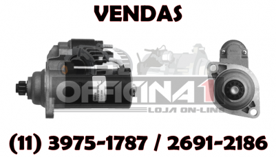 MOTOR DE PARTIDA ISKRA 12V 10D 11131055 IS1041 MS383 ORIGINAL