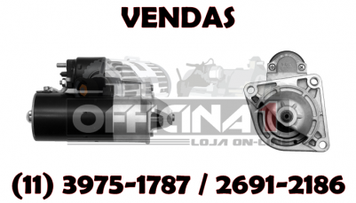 MOTOR DE PARTIDA ISKRA 12V 9D 11131595 IS1199 MS290 ORIGINAL