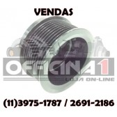 POLIA DELCO REMY 11SI ALTERNADOR CUMMINS TEREX DYNAPAC CASE NEW HOLLAND 19020204 3972730 21G0006
